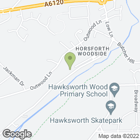 Map of MG Access in Horsforth, Leeds, west yorkshire