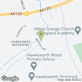 Map of The Bridge Inn in Horsforth, Leeds, west yorkshire