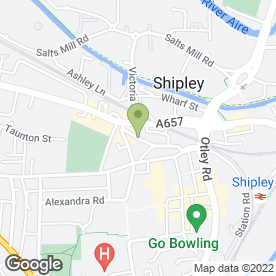 Map of Clinica Beauty in SHIPLEY, west yorkshire