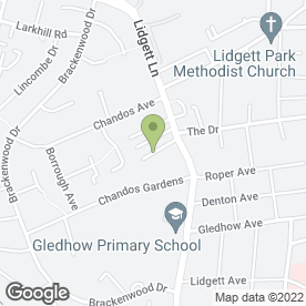 Map of Hannah Denton Chiropodist Msc (Hons) in Leeds, west yorkshire