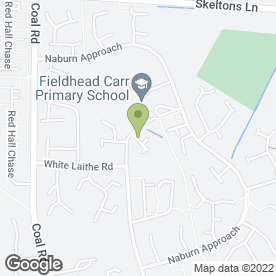 Map of Whinmoor Surgery in Leeds, west yorkshire