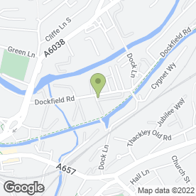 Map of Signs Direct in Dockfield Road, Bradford, west yorkshire