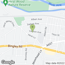 Map of Piccolo Day Nurseries in Shipley, west yorkshire