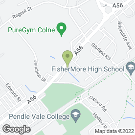 Map of Pendle Children & Parenting Support Service in Colne, lancashire