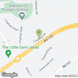 Map of Aireborough Home & Garden Services in Moortown, Leeds, west yorkshire