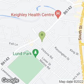 Map of Car & Commercial in Keighley, west yorkshire