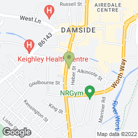 Map of Guardian Security Installations Ltd in Keighley, west yorkshire