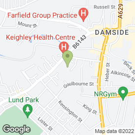 Map of Holycroft Surgery in Keighley, west yorkshire