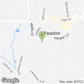 Map of Brooklands Residential Home in Yeadon, Leeds, west yorkshire