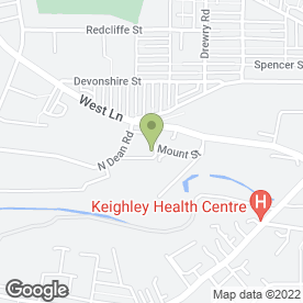 Map of Keighley St. Andrew's C of E Primary School in Keighley, west yorkshire