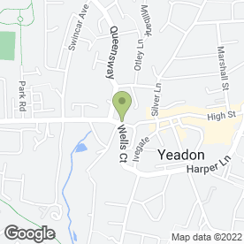 Map of Home Electrics in Yeadon, Leeds, west yorkshire