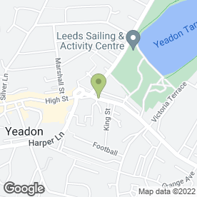 Map of Yeadon Chiropody And Podiatry Centre in Leeds, west yorkshire