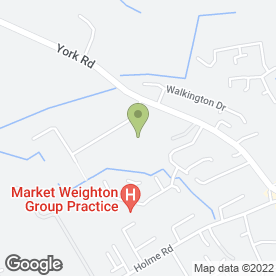 Map of Michael Roe Motor Engineers in Market Weighton, York, north yorkshire