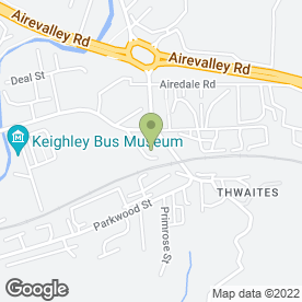 Map of Auto Rentals in Keighley, west yorkshire