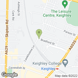 Map of Essential to Prestige Car Hire in Keighley, west yorkshire
