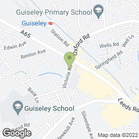Map of Baildon Motors Ltd in Guiseley, Leeds, west yorkshire