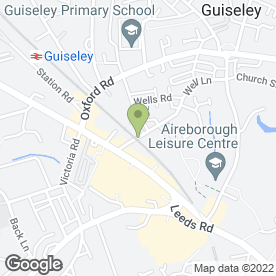 Map of 2 Men With A Van House Clearance in Guiseley, Leeds, west yorkshire