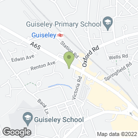 Map of B & M Mobilty Ltd in Guiseley, Leeds, west yorkshire