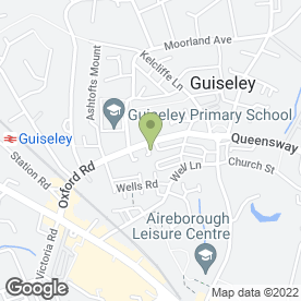 Map of GUISELEY MOBILITY in Guiseley, Leeds, west yorkshire