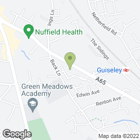 Map of Driving 4 U in Guiseley, Leeds, west yorkshire