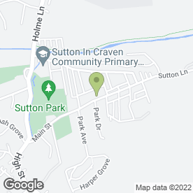 Map of Mulloys in Sutton-in-Craven, Keighley, west yorkshire