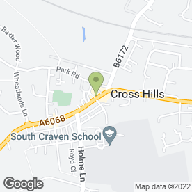 Map of Beauty Specialists in Cross Hills, Keighley, west yorkshire