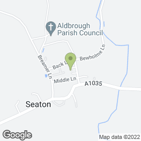 Map of The Removal Men.Com in Seaton, Hull, north humberside