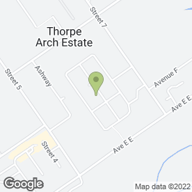 Map of Security Plus Ltd in Thorp Arch, Wetherby, west yorkshire