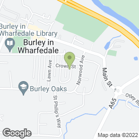 Map of Plumbing Solutions in Ilkley, west yorkshire