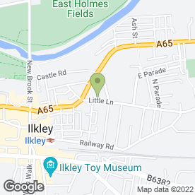 Map of Andrew Hartley Fine Arts in Ilkley, west yorkshire