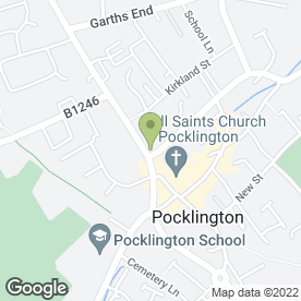 Map of Pocklington Boiler Service Ltd in Pocklington, York, north yorkshire