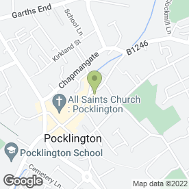 Map of Blooming Occasions in Pocklington, York, north yorkshire
