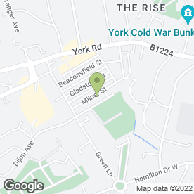 Map of Arborwise Tree Surgery in York, north yorkshire