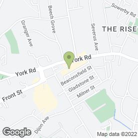 Map of Greggs in Acomb, York, north yorkshire