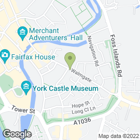 Map of Lock Fix in York, north yorkshire