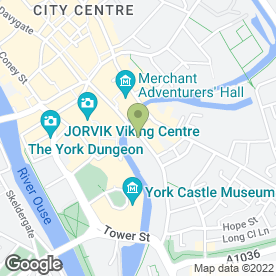Map of 1st Call Dave Dee Removals in York, north yorkshire