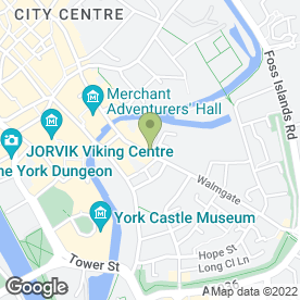 Map of P M H SECURITY in York, north yorkshire