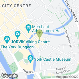 Map of Edward Charles Hair & Beauty in York, north yorkshire