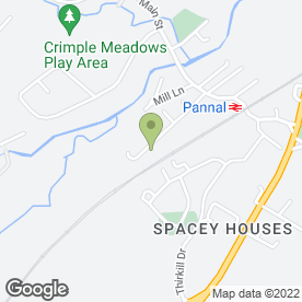 Map of Country Fabrics in Pannal, Harrogate, north yorkshire