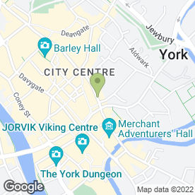 Map of Hunters The Estate Agent in York, north yorkshire