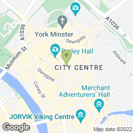 Map of ASHBERRY OF YORK in York, north yorkshire