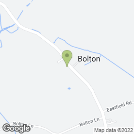Map of Classic Car Hire Yorkshire in Bolton, York, north yorkshire