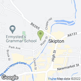 Map of Carphone Warehouse in Skipton, north yorkshire