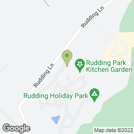 Map of Rudding Park in Harrogate, north yorkshire