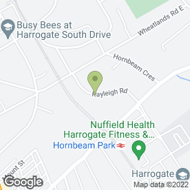 Map of Holiday Property Bond in Harrogate, north yorkshire