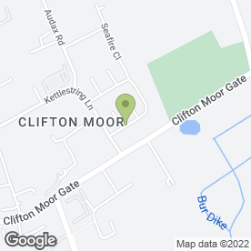 Map of Blind Image in Clifton Moor, York, north yorkshire