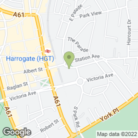 Map of Barber Titleys Solicitors in Harrogate, north yorkshire