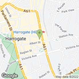 Map of Filmore & Union in Harrogate, north yorkshire