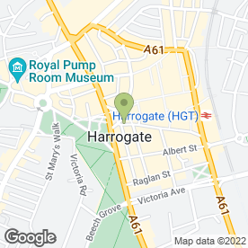 Map of Jigsaw in Harrogate, north yorkshire