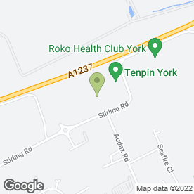 Map of Dunelm Mill in York, north yorkshire